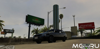 Мод Real Billboards в GTA 5 картинка