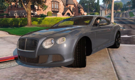 Кадр Bentley Continental GT 2014 (Add-On)