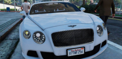 Bentley Continental GT 2014 (Add-On)