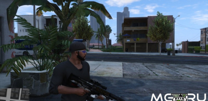 M2014 Gauss Rifle GTA 5 (Crysis 2)