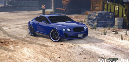 Bentley Continental Supersports картинка