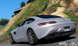 Кадр Mercedes-Benz AMG GT 2016 (Тюнинг, Add-on)