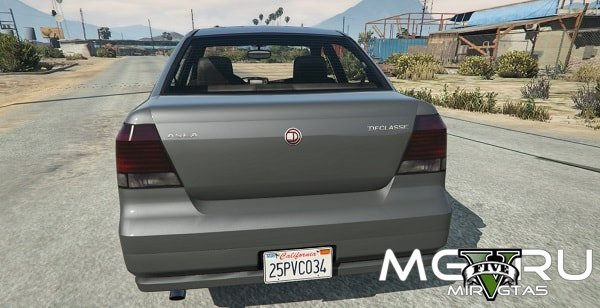 Мод California State License plate