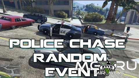 Police Chase Random Event 1.1