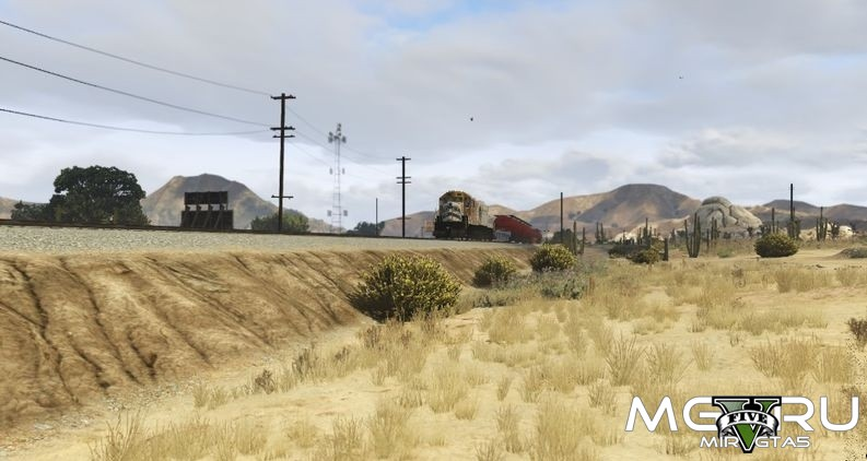 Мод Freight Both Ways для GTA 5