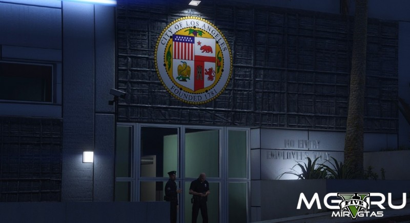 Мод LAPD Hollywood Dept для GTA 5