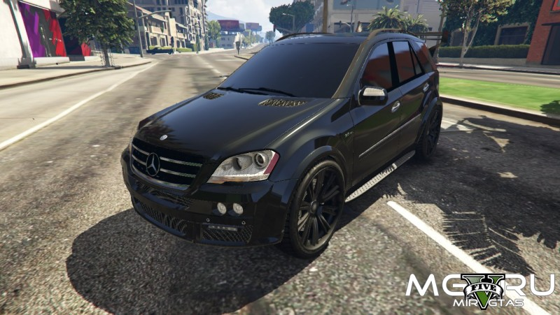 Mercedes-Benz ML63 AMG для ГТА 5